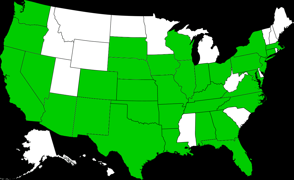 Mean Green Scholarship Fund members in the United States
